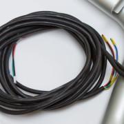 WH2/2 - instalovaná kabeláž pro 2 přídavné světlomety a 2 majáky