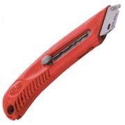 Bezpečnostní nůž pro leváky - červený - BN S3L