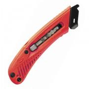 Bezpečnostní nůž pro leváky - červený - BN S5L