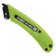 Bezpečnostní nůž pro praváky - zelený - BN S5R