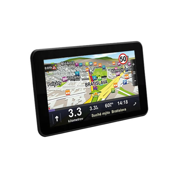 """7"""" PC tablet / GPS navigace s ANDROID - Truck / TIR - GS750 (NS)"""