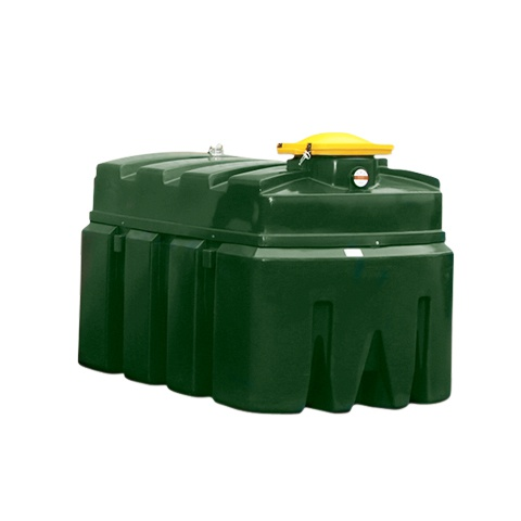 Dvouplášťová nádrž na použitý olej - PLN K2500