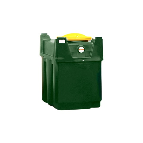 Dvouplášťová nádrž na použitý olej - PLN K600