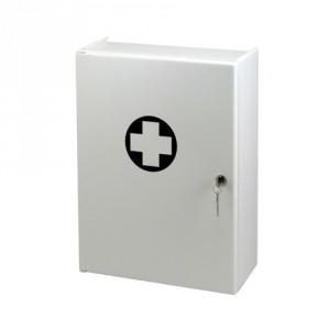 Nástěnná uzamykatelná plastová lékárnička, SKLAD/OBCHOD - ZM 1403/1