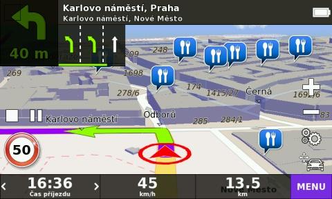4,3″ GPS navigace