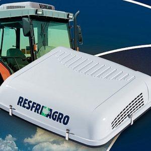 Klimatizace vodní - ResfriAgro - (střešní) integrovaná nádrž - STŘEDNÍ PANEL / 12V
