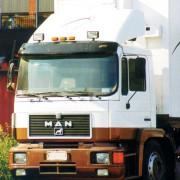 Sluneční clona MAN M2000/F2000,Narrow cabin 2280mm, standard roof, art. 5016AB