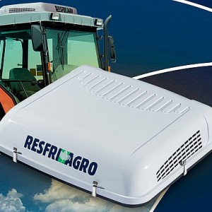 ResfriAgro - klimatizátor s integrovanou vodní nádrží - MALÝ PANEL / 12V