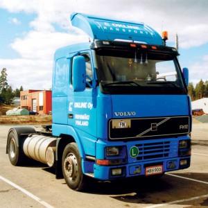 Sluneční clona Volvo FH/FM -2001 art. 5052A - pouze akrylová část