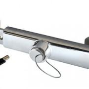 Zabezpečení návěsu z pochromované oceli / 34 cm - 48 cm