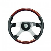 STARTRUCK 4 - koženo-mahagonový volant, průměr 457 mm