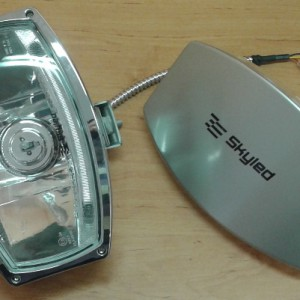 Kryt reflektoru / světlometu Jumbo Ellipse Skyled (s polepem)