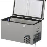 Lednice TB74 Steel - kompresorová autochladnička od Indel B (74 litrů) 12/24/230V