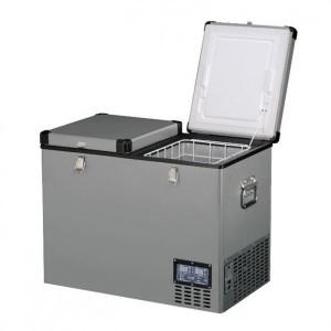 Lednice TB118DD Steel - kompresorová autochladnička od Indel B (118 litrů) 12/24/230V