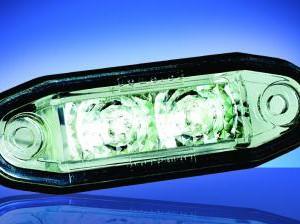 Obrysové LED světlo bílé se 2 LED moduly