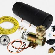 Montážní sestava s kompresorem 12V
