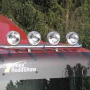 Lamp holder for roof, fi 60 mm, polished MAN TGA/TGX/TGS (XL TGL-L)