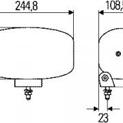Reflektor Jumbo 320 FF 1FE 008 773-041