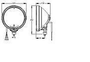 Reflektor Britax typu L09 modrý