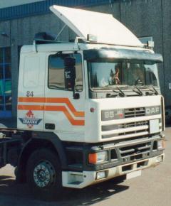 Sluneční clona DAF 95 / kat.č. 5061AB