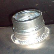 Zabezpečení hrdla nádrže - průměr 60 mm na závit
