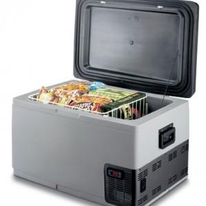 Lednička s mrazákem C65 a termostatem LED 12/24/230V