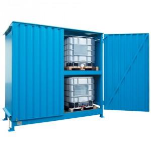 Venkovní sklad pro skladování IBC kontejnerů - C22-5218-C