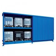 Venkovní sklad pro skladování IBC kontejnerů - C22-5234-C
