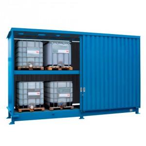 Venkovní sklad pro skladování IBC kontejnerů - C22-5240-C