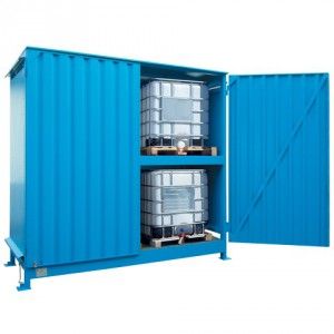 Venkovní sklad pro skladování IBC kontejnerů - C22-5241-C