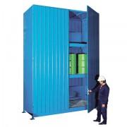 Venkovní sklad s vysokou kapacitou pro skladování sudů - C22-5314-C