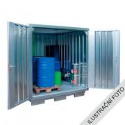 Ekosklad nebezpečných látek s nucenou ventilací, 3 × 2 - H61-2103-LK