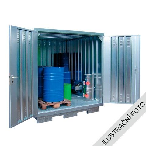 Ekosklad nebezpečných látek s nucenou ventilací, 6 × 3 - H61-2110-LK
