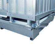 Ekosklad se samovolnou ventilací, 2 × 1 - H63-1100-A