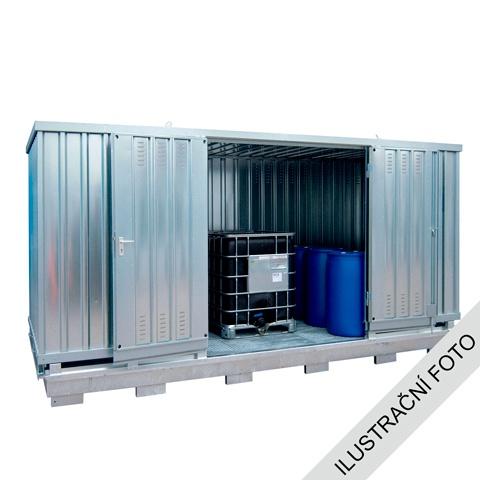 Ekosklad se samovolnou ventilací, 4 × 3 - H63-1107-C
