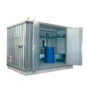 Ekosklad s termoizolací a topením, 3 × 2 - H63-1202-A