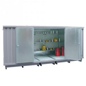 Ekosklad s termoizolací a topením, 5 × 2 - H63-1204-A