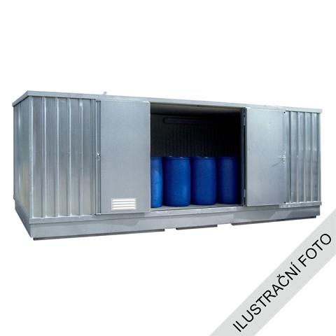 Ekosklad s termoizolací a topením, 4 × 3 - H63-1207-A