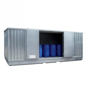 Ekosklad s termoizolací a topením, 6 × 3 - H63-1209-A