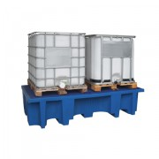 Záchytná vana pod dva IBC kontejnery - P70-7131-A