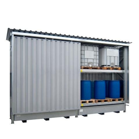 Venkovní dvoupatrový kontejner - dvě pole - PLN 2101