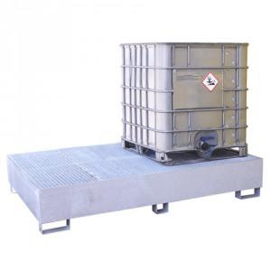 Záchytná paleta pod 2 IBC kontejnery - PLN 2805