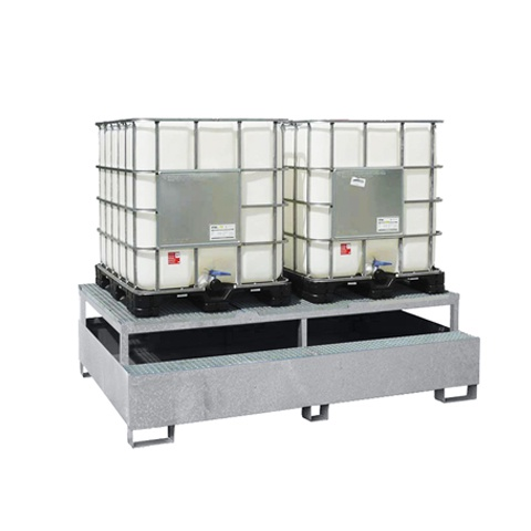 Záchytná vana pod dva IBC kontejnery - PLN 2806