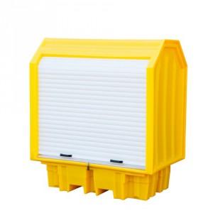 Záchytná krytá vana pro 2 sudy - PLN 3952