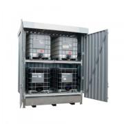 Venkovní dvoupatrový kontejner - jedno pole - R26-2100-D