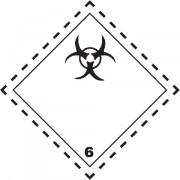 Značka Infekční látky TŘ. 6.2 - folie samolepící