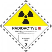 Značka Radioaktivní látky, značka 7C