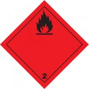 Značka Hořlavé plyny TŘ. 2.1 - hliník