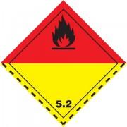 Značka Organické peroxidy TŘ. 5.2 - hliník