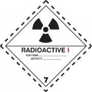 Značka Radioaktivní látky, značka 7A - hliník